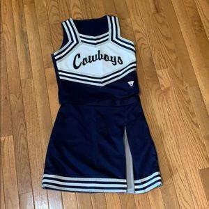 Cowboys Cheerleading Uniform (Varsity Brand)
